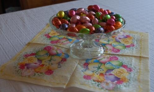 Påsk_och_små_chokladägg